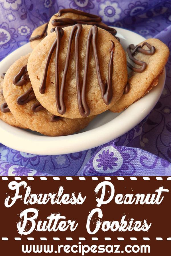 Flourless Peanut Butter Cookies Recipes