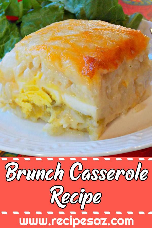 Brunch Casserole Recipe