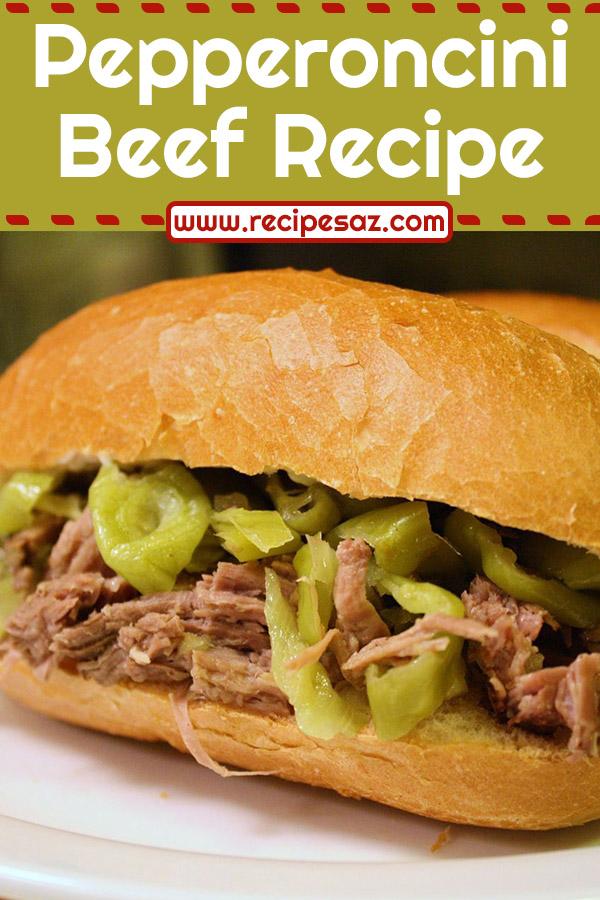 Pepperoncini Beef Recipe