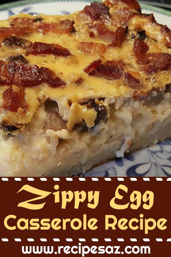 Zippy Egg Casserole Recipe