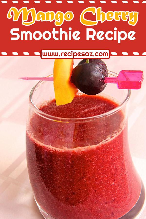 Mango Cherry Smoothie Recipe