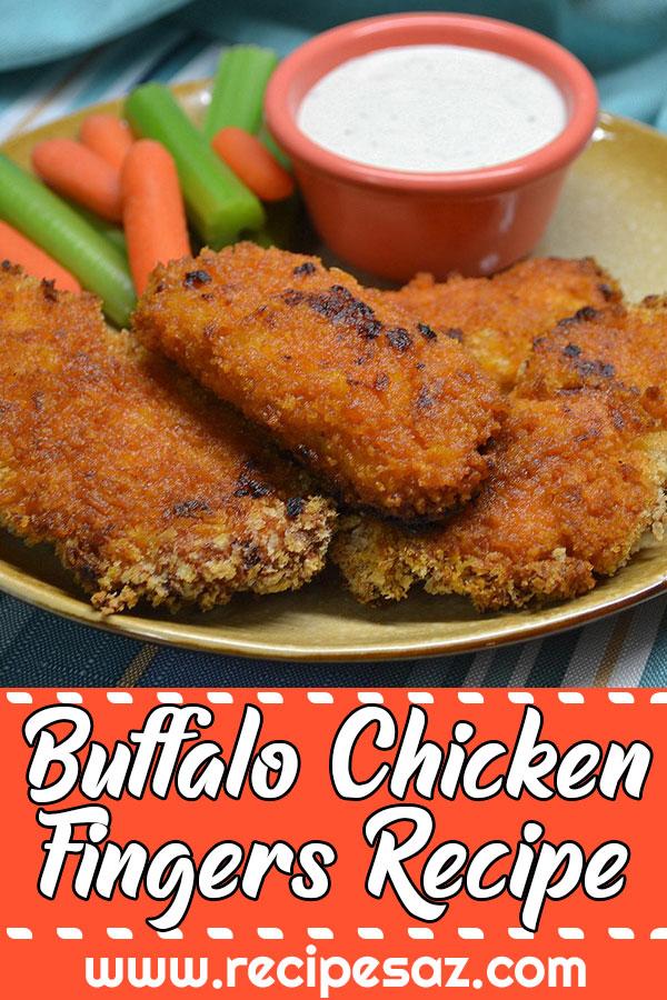 Buffalo Chicken Fingers Recipe